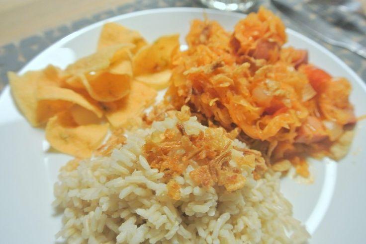 Recept: Zuurkool met rijst