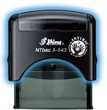 ANTIbac self inking rubber stamps from Schwaab kill up to 99.99% of bacteria, promoting a safe and healthy environment!