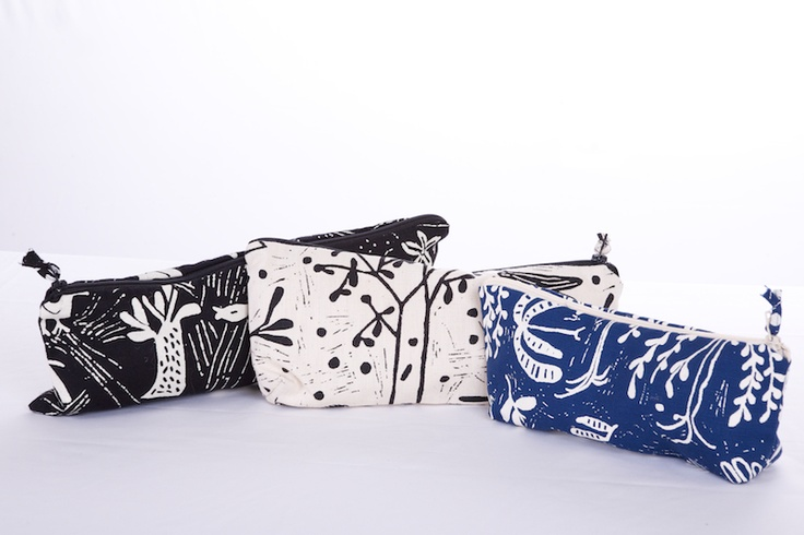 Make-up bags benefit women and children in impoverished areas surrounding Cape Town, South Africa