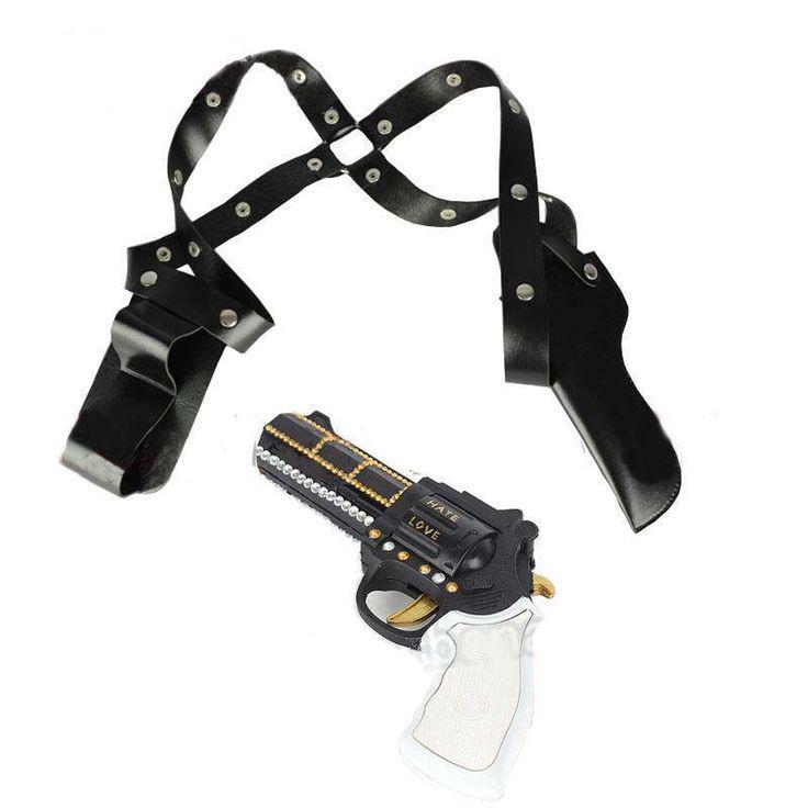 Suicide Squad Harley Quinn Accessories Gun Holster Sheath Case Belt Cosplay Halloween Party Supplies
