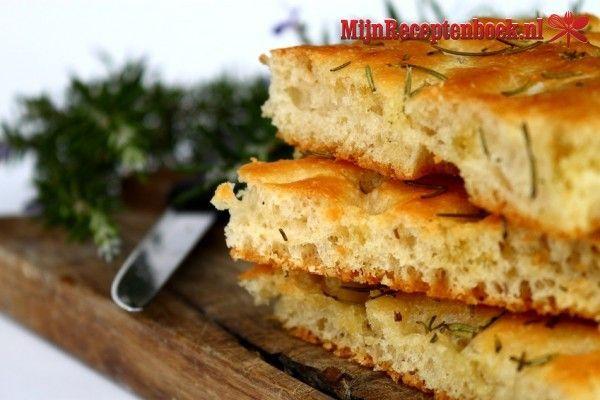 Focaccia  (Italiaans brood) recept