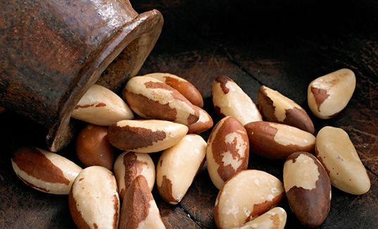 If you're not keen on fish, turn to BRAZIL NUTS for your daily supply of selenium, which prevents cellular damage from free radicals.  I have to admit, they're not my favorite nut, but you only need a couple per day to reap the benefits!  That's doable.