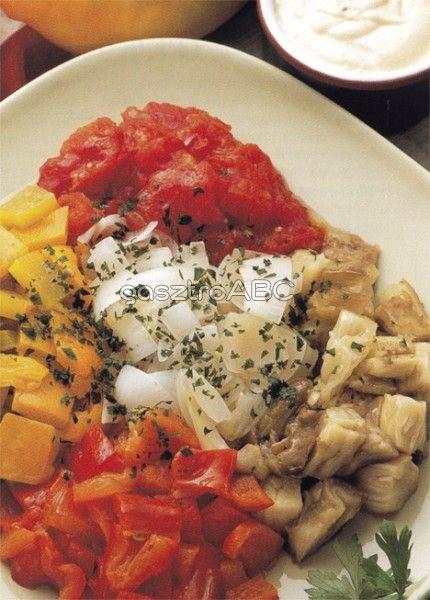 Zöldségek fokhagymás majonézzel | Receptek