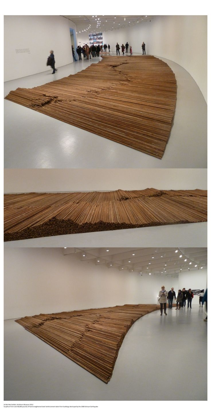Ai Wei Wei exhibit at the Hirshhorn Museum
