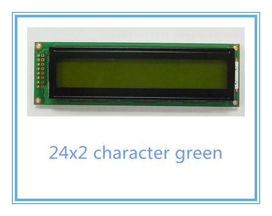 Free shipping 2pcs LCD 2402 242 24x2 lcd display  WH2402A LC2421 with Russian Font #Affiliate