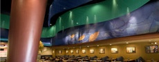 Route 66 Casino, Buffet 66 Interior casino restaurant design, decor and themed area creation - Albuquerque, NM