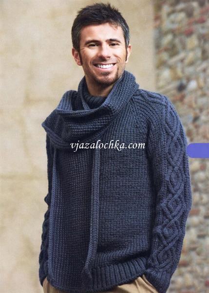 Вязание муж свитера