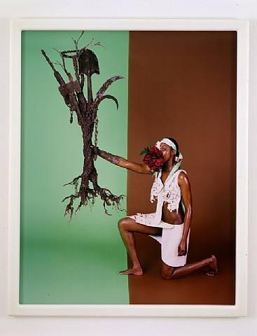 Matthew Barney. De Lama Lamina. C-print. 54 x 43.5 in. 2004.