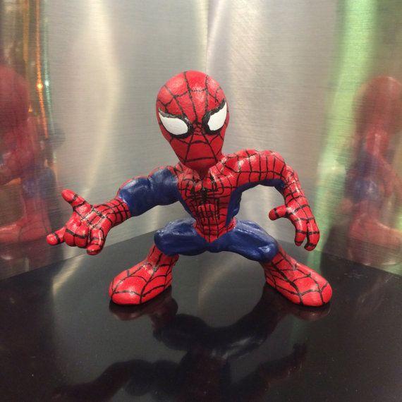 Custom Spider-Man Sculpture by LightningSculpts on Etsy
