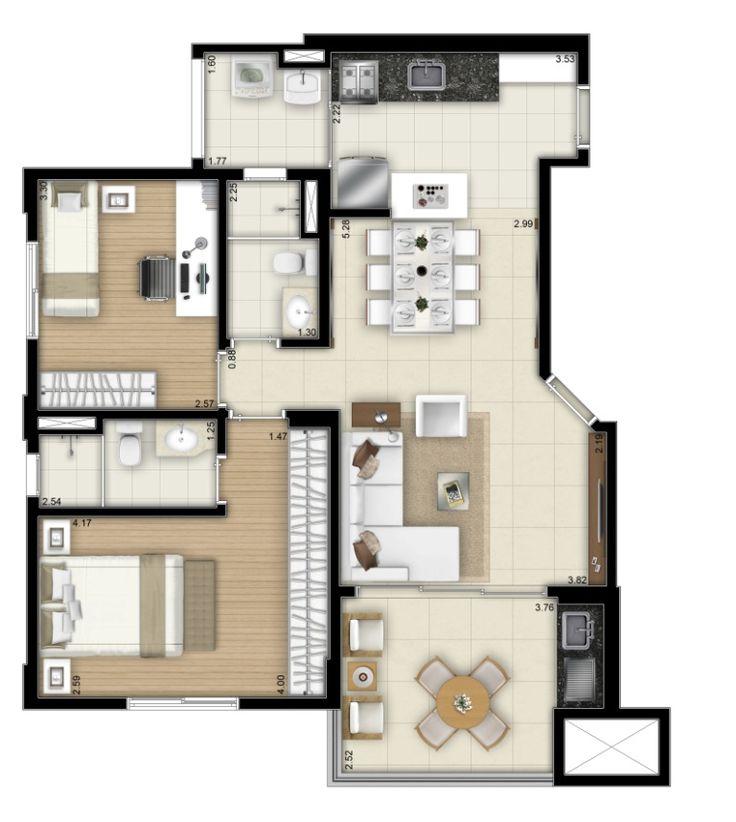 Apartamento pronto para morar com 2 e 3 dorms, 2 vagas determinadas, Próximo ao Parque do Ibirapuera. Terraço gourmet e lazer. Conheça.
