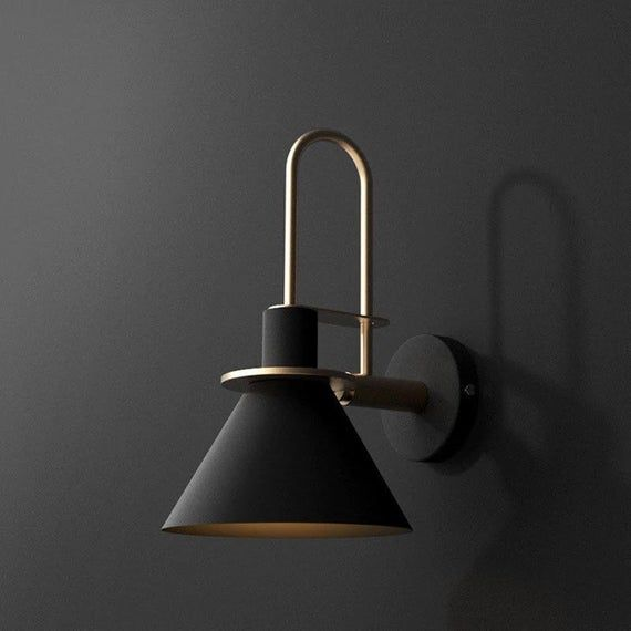 Wall Mounted Modern Bedside Metallic Lights Dinning Area Lamps Wall Lamps Hallway Lights Living Room Cafe Restaurant Bar Light No Bulb In 2021 Industrial Wall Lights Wall Lights Bedroom Modern Wall Sconces