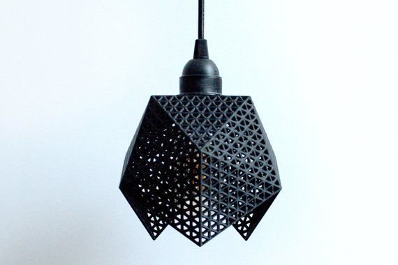 Plug In Pendant Lamp 3d Printed Lighting 3d Printed Lamp Bedroom 3d Printed Pendant Light Modern Lighting Plu In 2020 Hangeleuchte Anhanger Lampen Pendelleuchte Modern