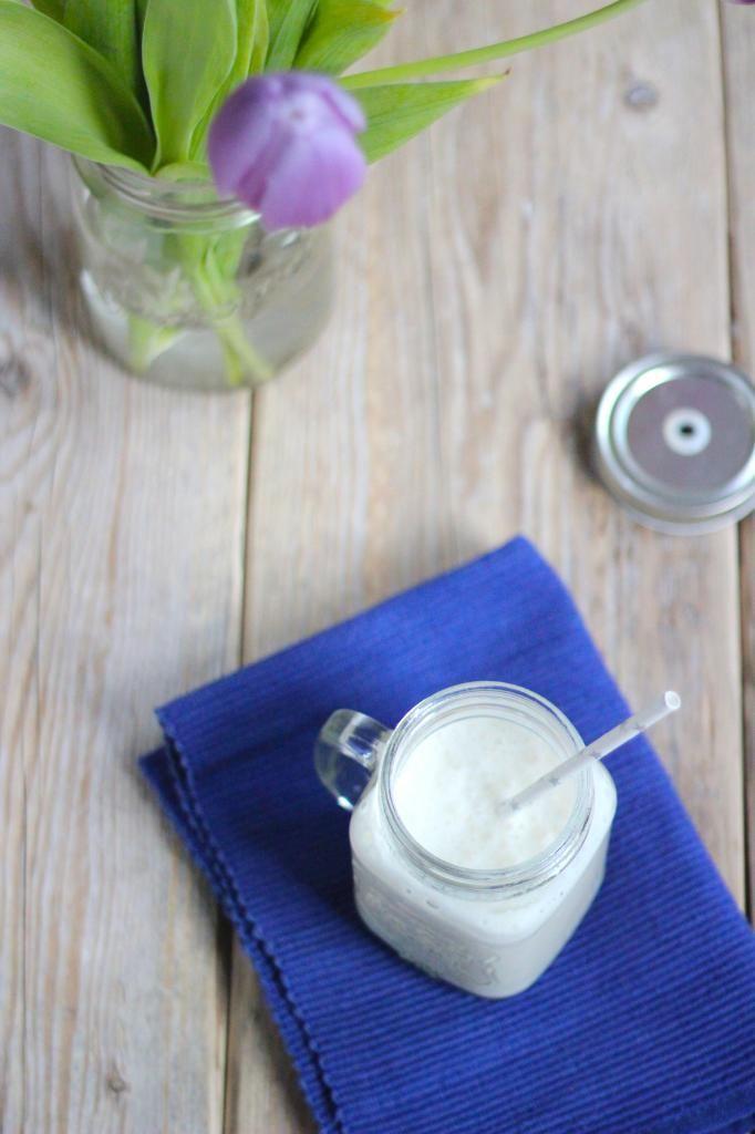 Kokos-banaan smoothie - Lekker en Simpel