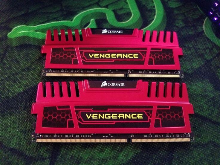 Corsair Vengeance 16GB (2x8GB) Dual Channel DDR3-1600 240-Pin Desktop PC Memory