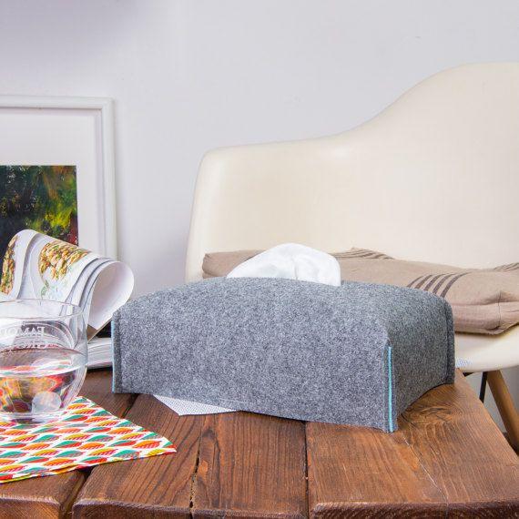 Tissue box cover Kleenex Box Case Housewarming decors by POPEQ