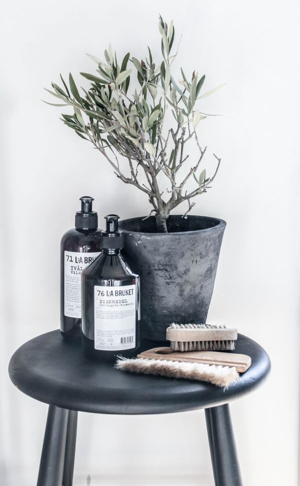Zinc, olive tree and lovely toiletries - a few of my fave things .....