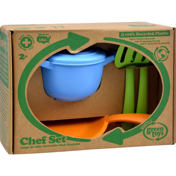 Reducing fossil fuel use and CO2 emissions is part of the recipe for aspiring gourmets who use the Green Toys Chef Set. Here's an even greater incentive to make your kids drink their milk. Green Toys