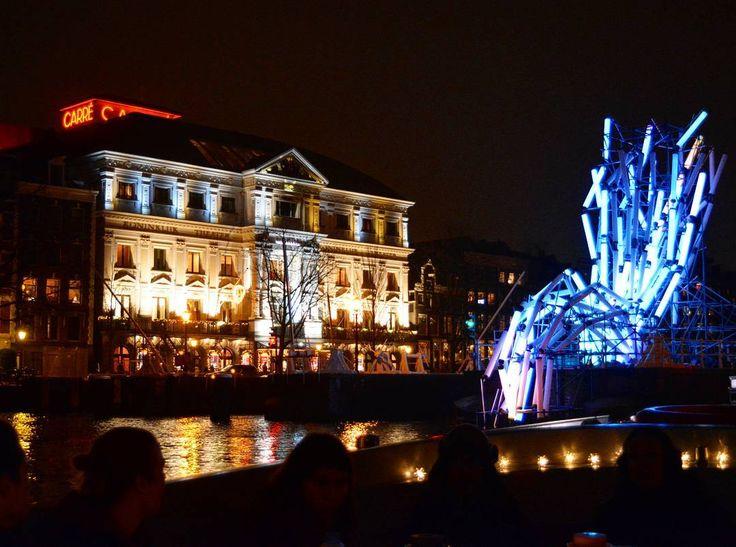 Amsterdam Light  Festival: Nexus by Victor Vicsek.