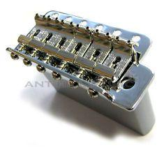 """Genuine Fender """"Big Block"""" Mexican Chrome Tremolo Bridge for Strat/Stratocaster"""