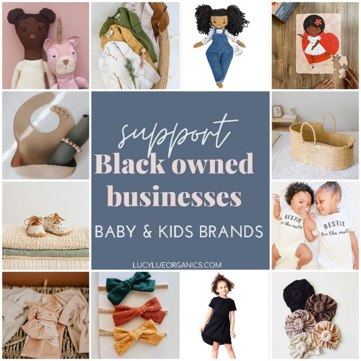 Black-Owned Baby Brands You Can Support | BabyGaga |Owned Baby