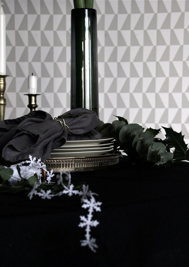 Christmas table / heidihallingstad.com