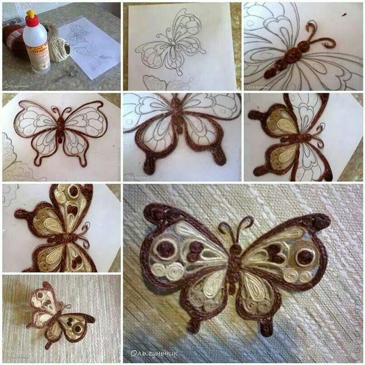 Farfalla in spago
