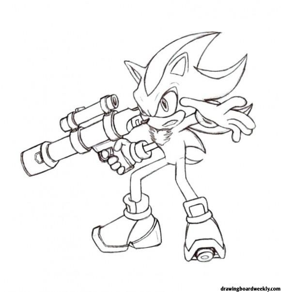 Sonic The Hedgehog Coloring Pages Coloring Pages Shadow The Hedgehog Hedgehog Colors
