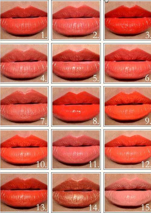 Labiales cítricos uno para cada tonalidad http://wp.me/p1WwjW-1LW