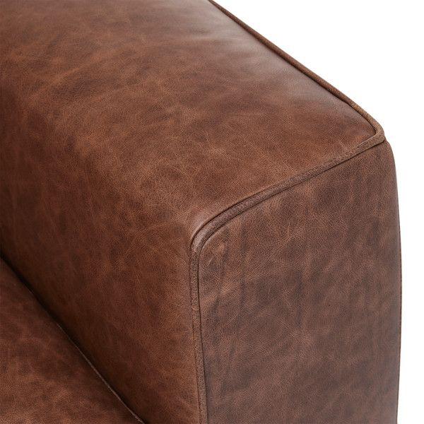 Brown Leather Sofas 3 Seater Sofa Marco Range Oak Furnitureland Oak Furnitureland Vintage Sofa