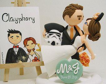 Star Wars Wedding Cake Topper U2013 Etsy