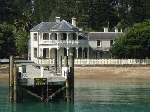 Mansion House Kawau Island, New Zealand