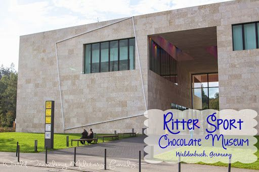 Ritter Sport Chocolate Museum – Waldenbuch, Germany. It's about 20 minutes from Kelly Barracks in Stuttgart, 2 hours and 20 mins from Ramstein, and 3 hours and 20 mins from Spangdahlem.