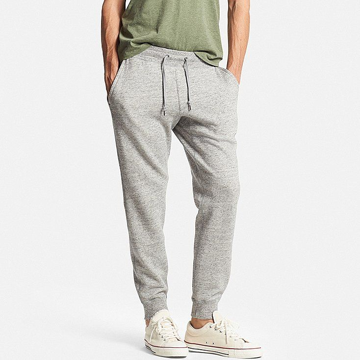 Men's Sweatpants, GRAY, large