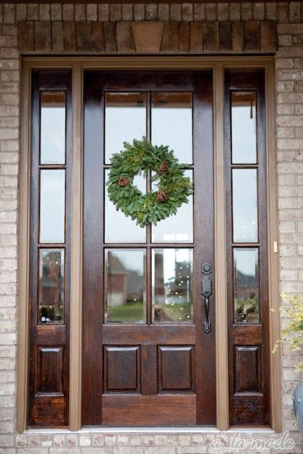 Best 25 Wood Front Doors Ideas On Pinterest Stained Front Door Entry Doors And Front Door Design