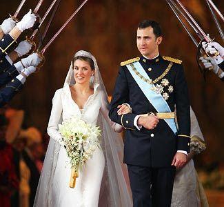 Memorable Royal Weddings ~ Prince Felipe & Letizia Ortiz