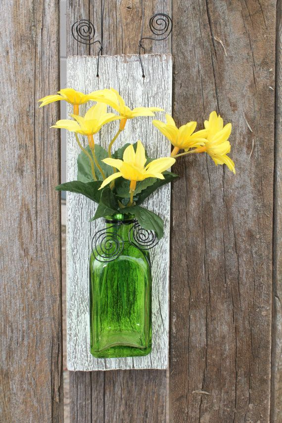 Wall Vase from Upcycled by PeddlersBoutique,