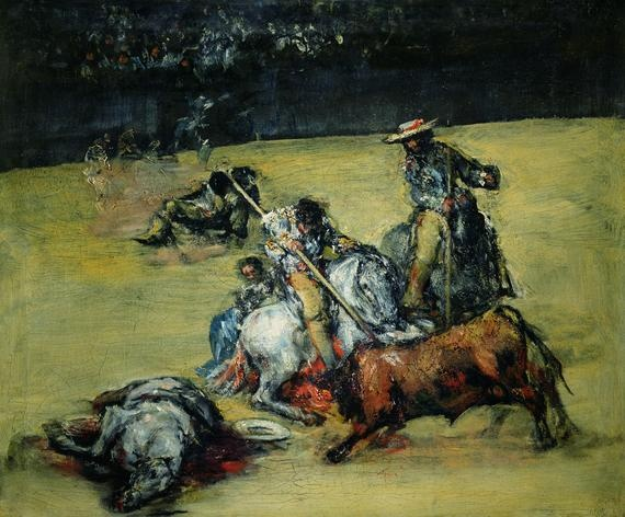 The Bullfight Art works by Francisco Goya — page 3 of 35