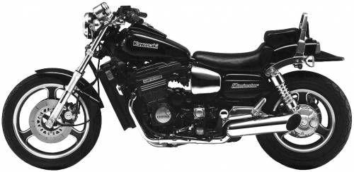 86 Kawasaki Eliminator - My first bike. LOL. It's not this pretty though!