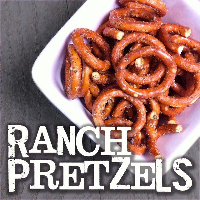 {YUM} Easy Ranch Pretzel Recipe