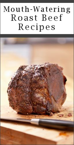 14 Mouth-Watering Ways To Cook Roast Beef - low carb Yummy!