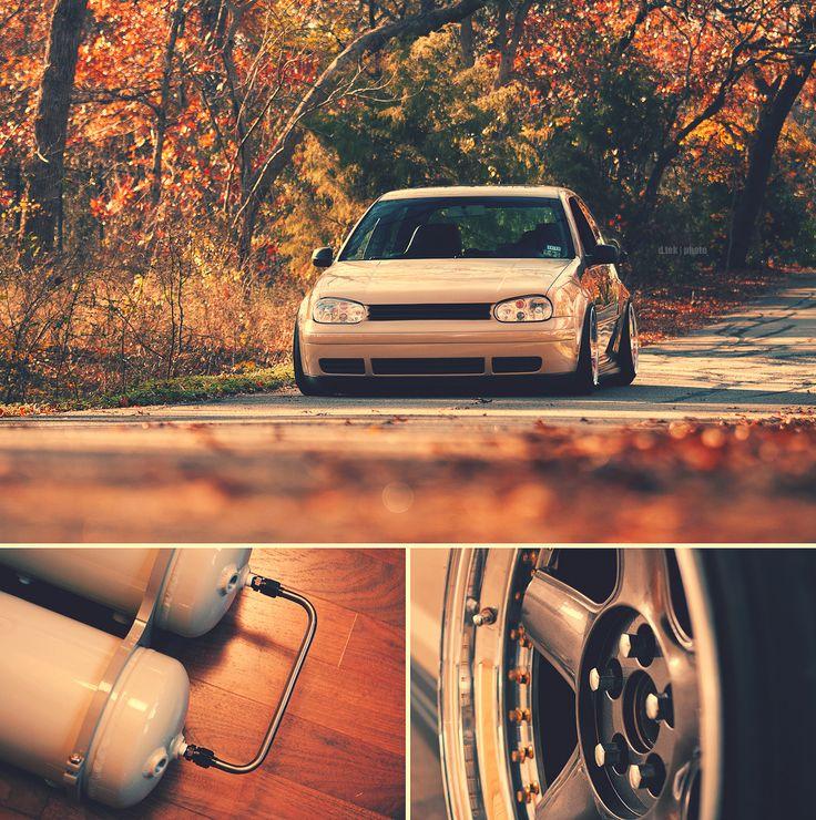 All you need: bags, wheels, car. MK4 Golf