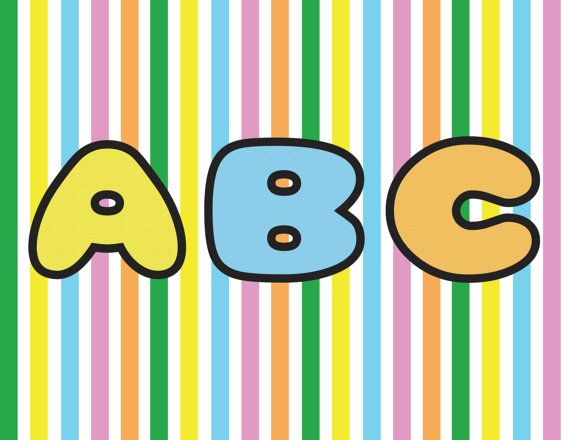 Tsum Tsum Alphabet Clipart 300 Dpi Transparent 5 X 5 Alphabet Clipart Tsum Tsum Birthday Banner