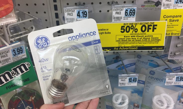 GE Specialty Light Bulbs, Only $0.14 at Rite Aid! week 11/6