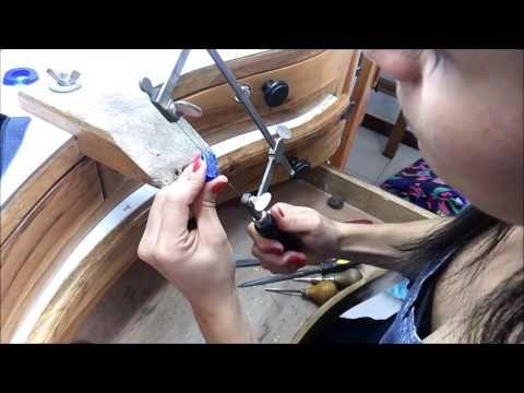 TUTORIAL ANILLO EN NOMBRE - TALLER DE JOYERIA - YouTube
