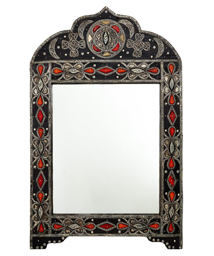 30 best images about wooden mirror frame decorations on for Embellished mirror frame