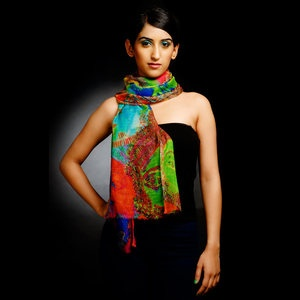 Mukh Scarf now featured on Fab.