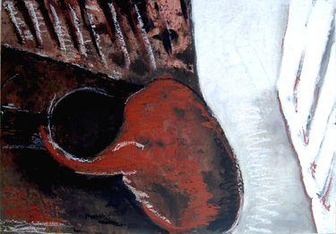 "Saatchi Art Artist maya florence brittain -sakuma; Painting, ""Consumed"" #art"