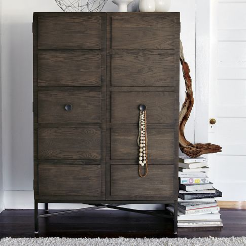 Paneled Armoire from west elm