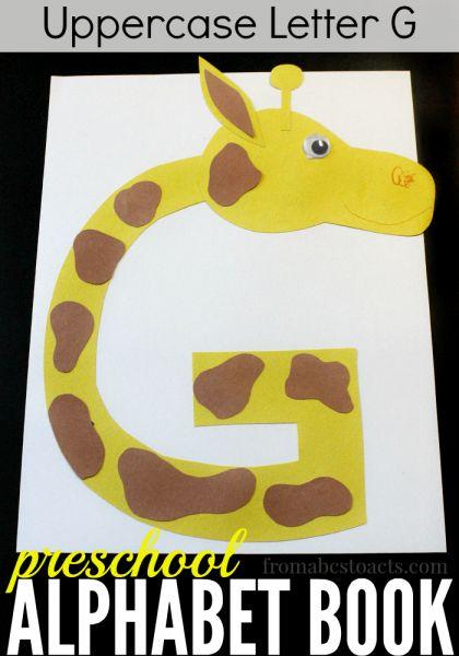 Letter G Crafts on Letter Gg Craft