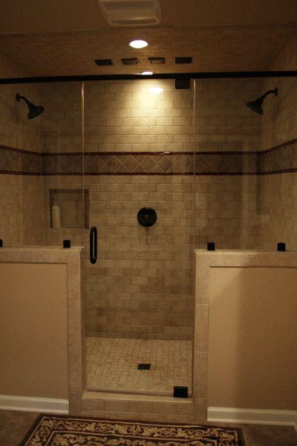 Warm master bathroom remodel - traditional - bathroom - philadelphia - by Robinson Interiors